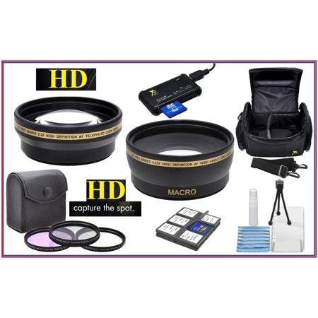 Hi Def Super Saving Accessory Package for Canon EOS M50 M6 (49mm Compatible)