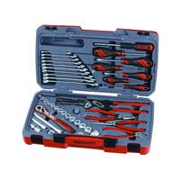 Teng Tools 67 Piece 3/8 Inch Drive Metric Tool Set - T3867