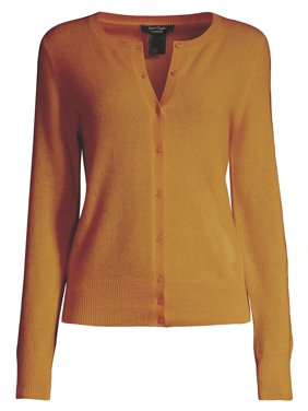 Button Front Essential Cashmere Cardigan