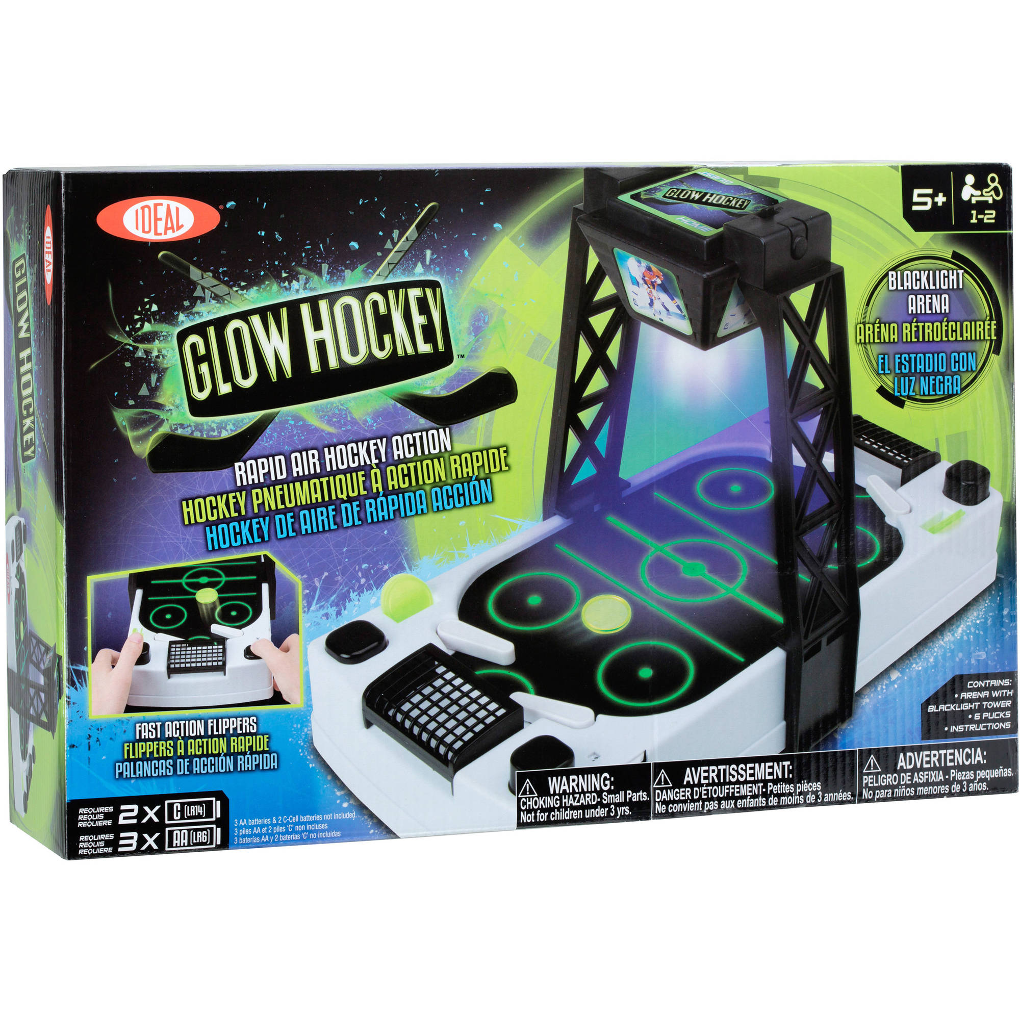 Ideal Glow Hockey by Poof - Slinky