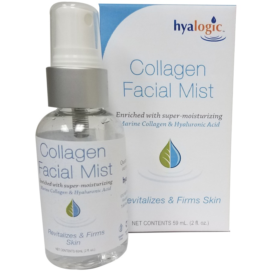 HA Collagen Facial Mist Hyalogic 2 oz Spray