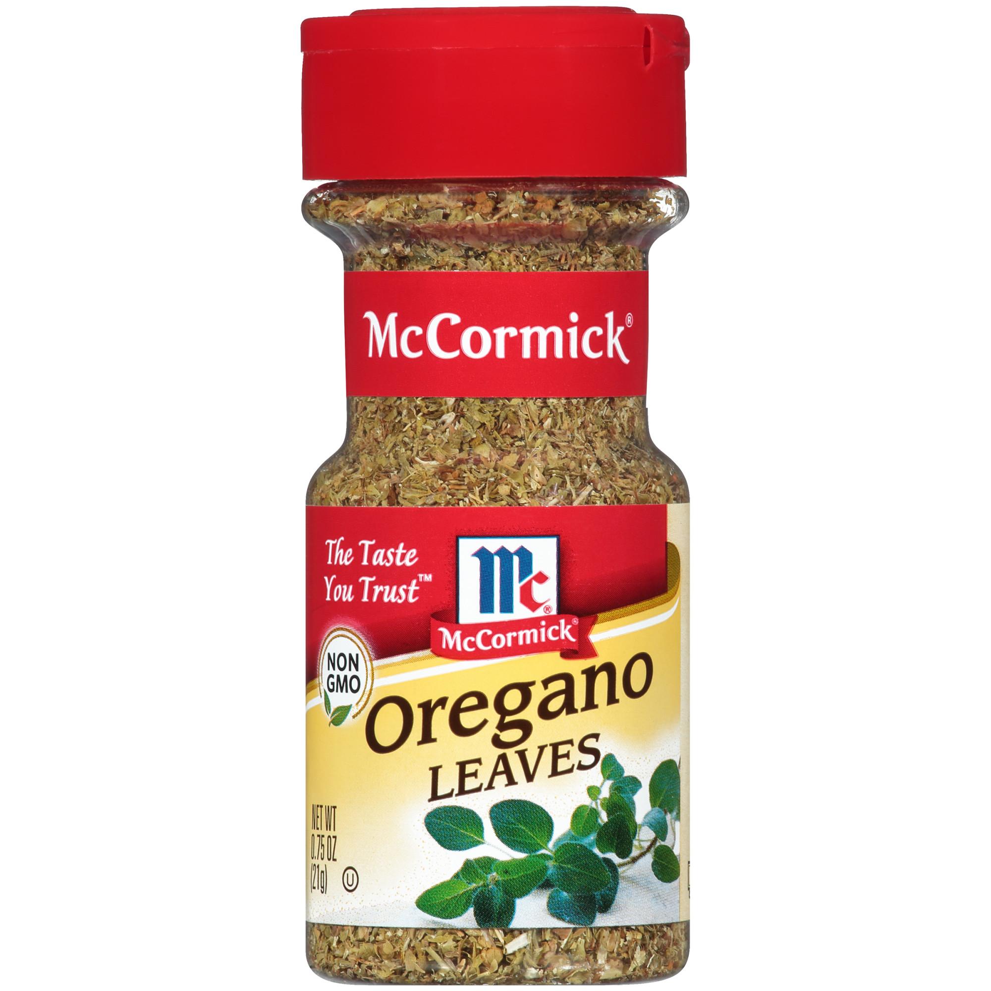 (2 Pack) McCormick Oregano Leaves, 0.75 oz