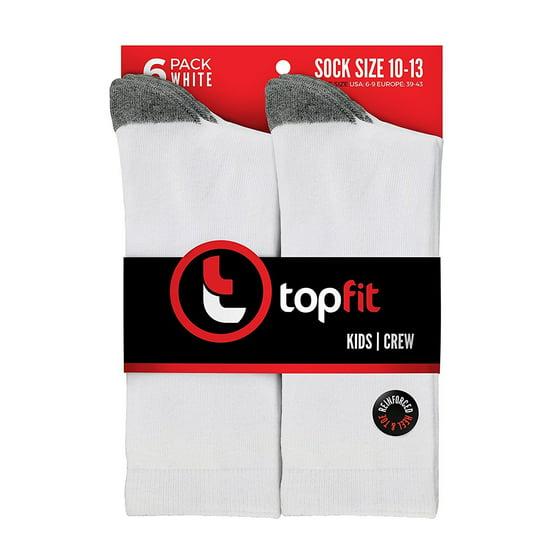 edd6b6dc3577 Topfit - The Topfit Cotton Dress Socks - Comfortable toddlers/big ...