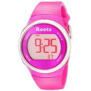 Roots Womens Cayley Digital Display Sport Watch, Pink