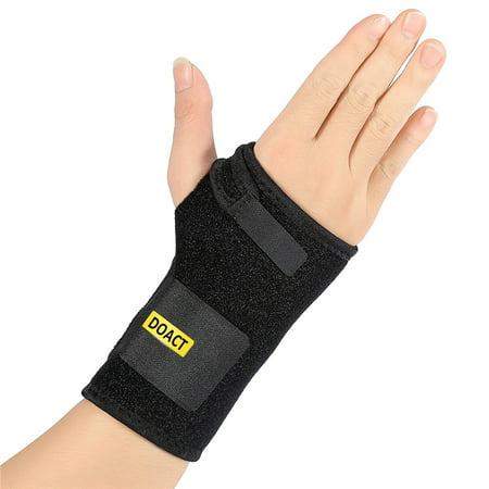 Carpal Tunnel Wrist Brace with Night Sleep Splint for Tendonitis and Arthritis Pain(Right hand)