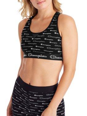 Champion The Authentic Sports Bra, Allover Logo