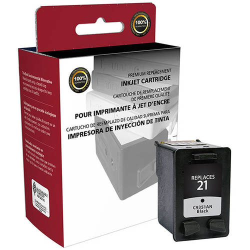 CIG Remanufactured Black Ink Cartridge (Alternative for HP C9351AN 21) (190 Yield)