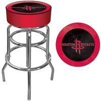 "Trademark Global NBA Houston Rockets 31"" Padded Swivel Bar Stool"