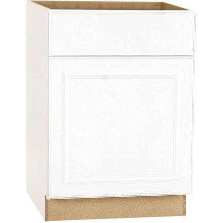 Hampton Bay 2478251 Base Cabinet, White, 24X24 In. (Hampton Bay Bath Cabinet)