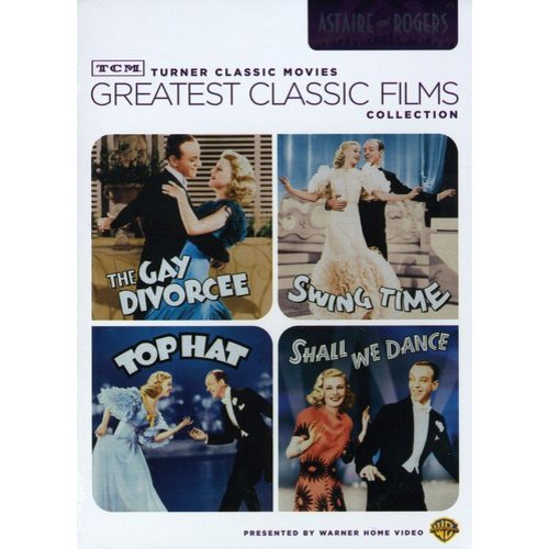 TCM Greatest Classic Films: Astaire And Rogers - The Gay Divorcee / Shall We Dance / Swing Time / Top Hat (Full Frame)