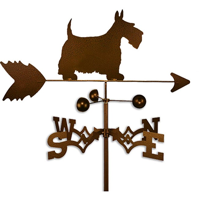SWEN Products Inc Handmade Scottish Terrier Dog Copper Weathervane by Overstock