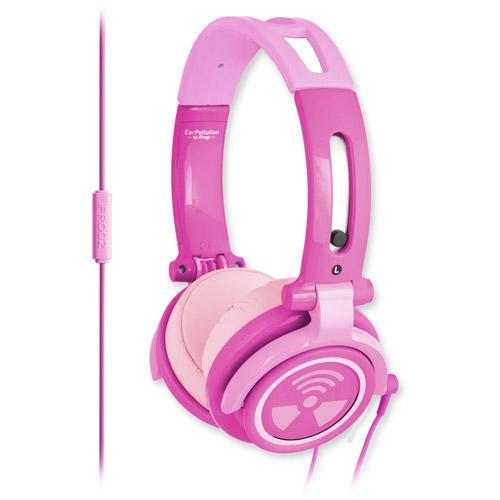 ifrogz EarPollution CS40 Headphones, Pink Chromatone