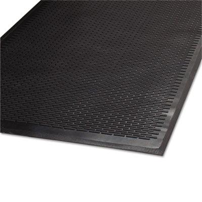 Clean Step Outdoor Rubber Scraper Mat, Polypropylene, 36 x 60, Black, Sold as 1 Each ()