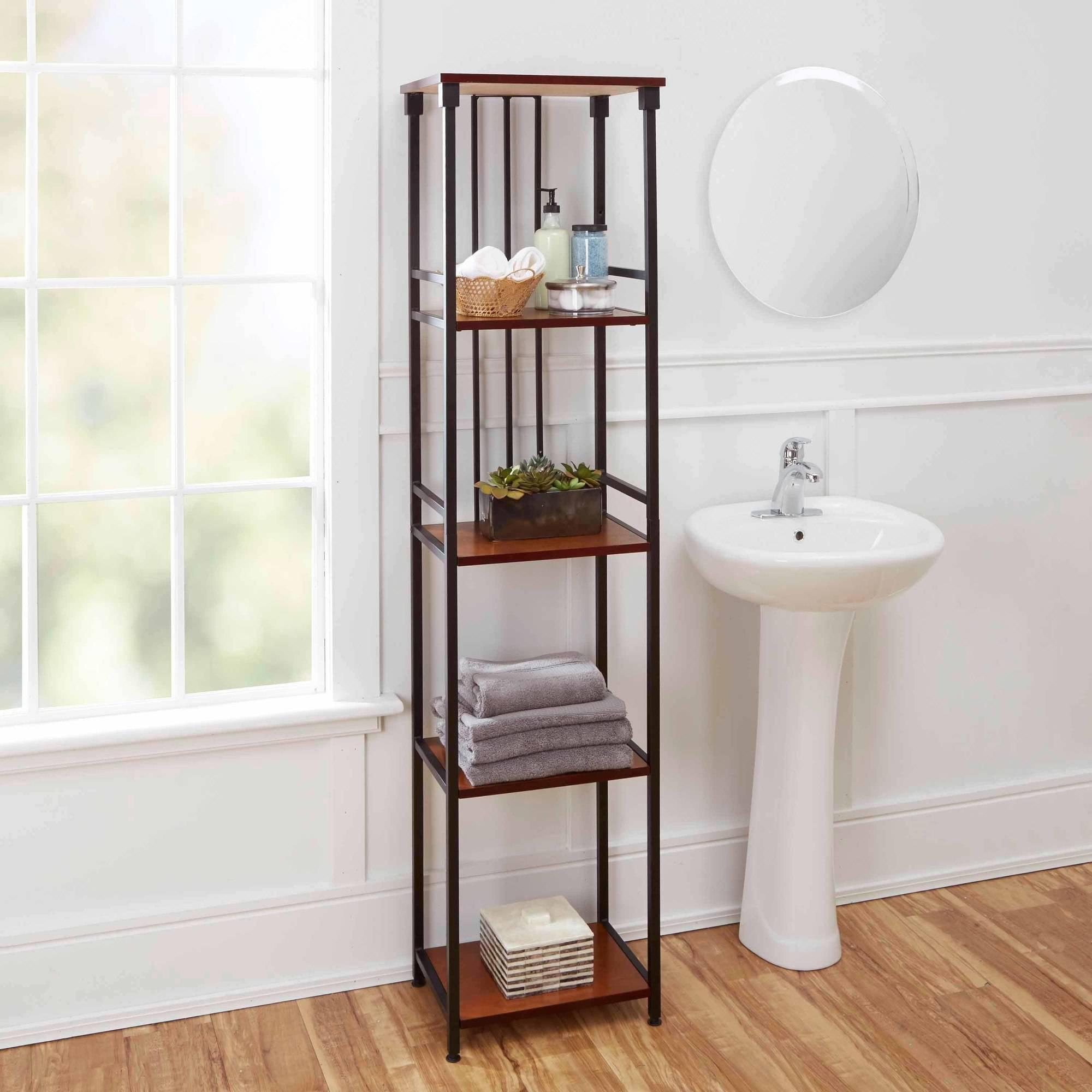 See More Hot 100 Bathroom Shelves