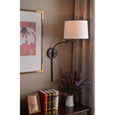 Seven Wall Swing Arm Lamp - Oil Rubbed