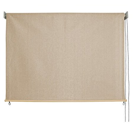 Keystone Fabrics Non Valanced Cord Operated Outdoor Solar Shade 6 39 Wide X 6 39 Drop Glenwood