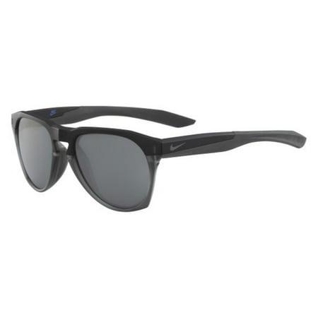 Sunglasses Nike Estnl Navigator Ev 1021 002 Mt Black Anthra W Gry Sil Lens