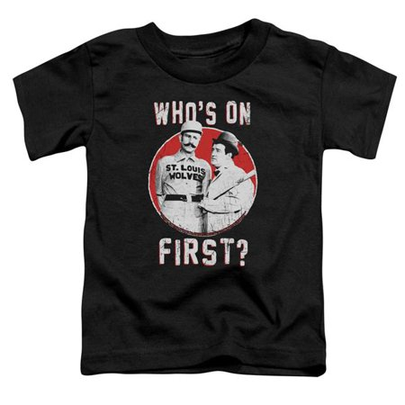 Abbott & Costello First-S by S Toddler Tee, Black - Small 2T - image 1 of 1
