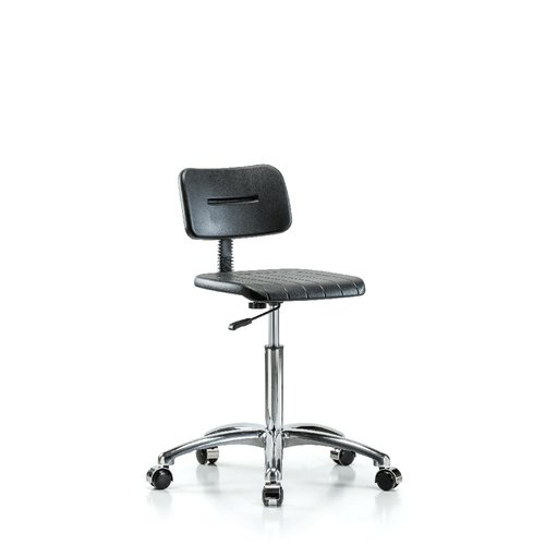 Perch Chairs & Stools Industrial Mid-Back Desk Chair by