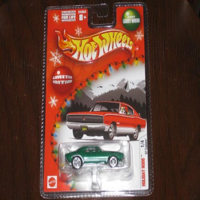 2004 Hot Wheels Holiday Rods '67 Green Camaro