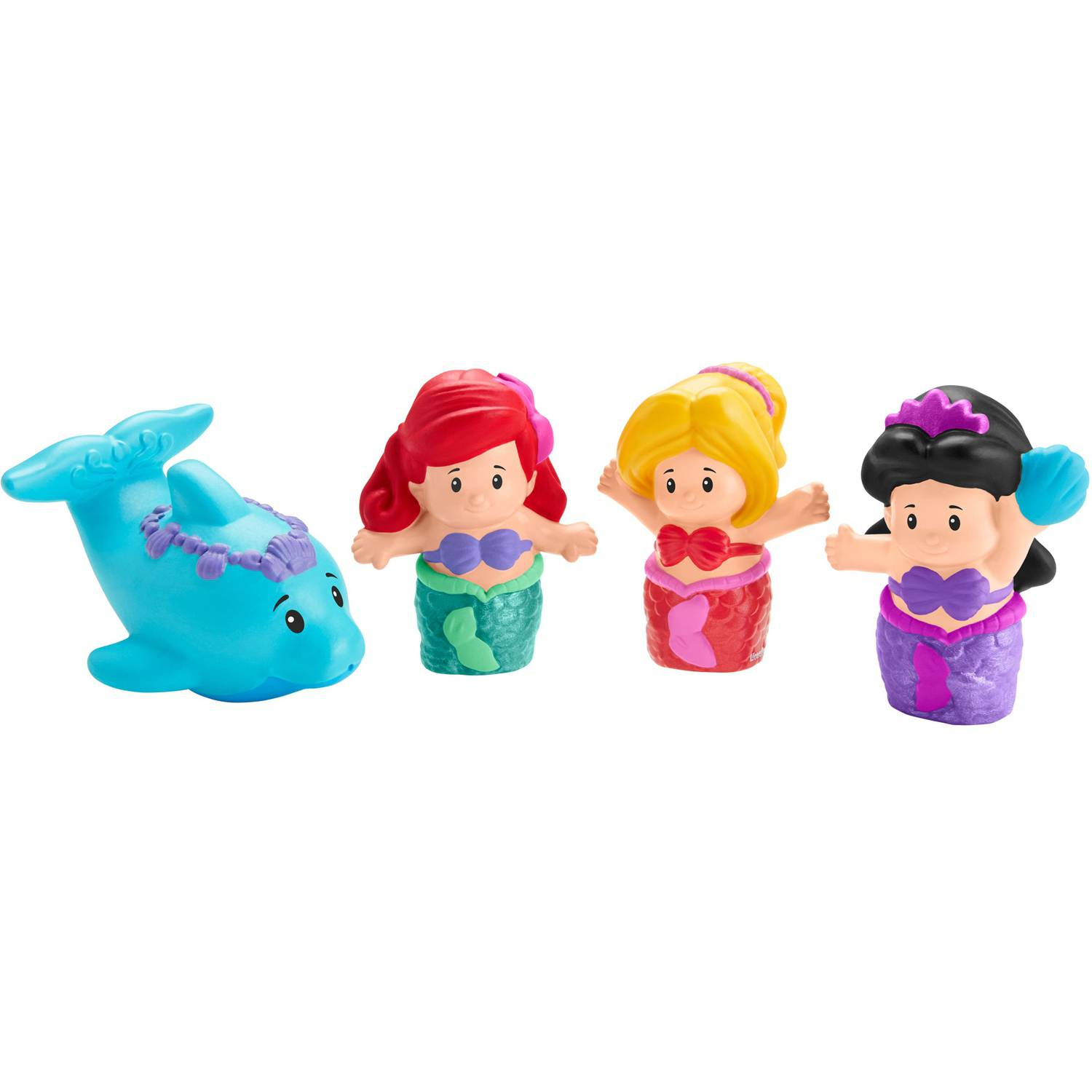 Fisher-Price Little People Disney Princess Bath Ariel Buddy Pack