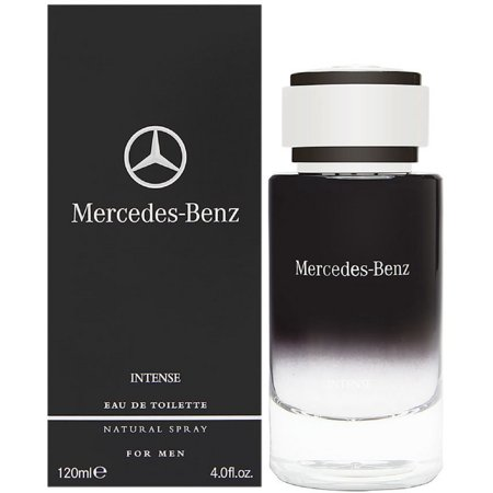 Mercedes-Benz Intense by Mercedes-Benz for Men - 4 oz EDT Spray (Mercedes Benz Cologne For Men)