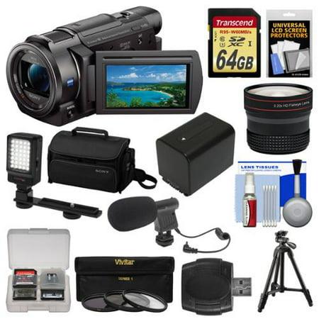 Sony Handycam FDR-AX33 Wi-Fi 4K Ultra HD Video Camera Camcor