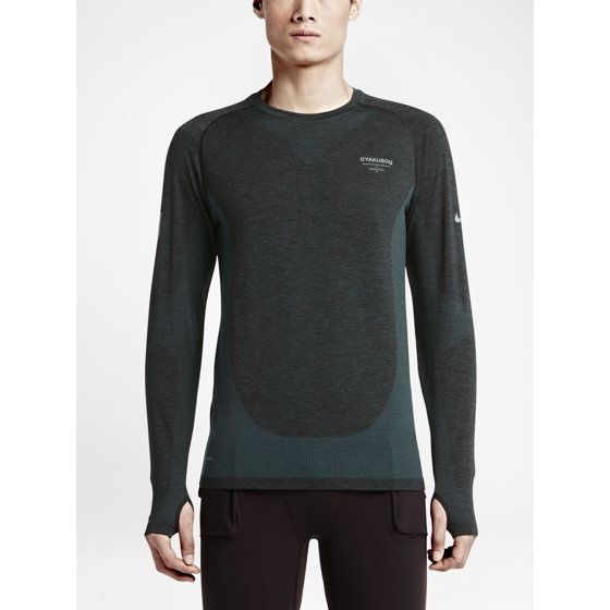 A nearly seamless construction provides total comfort. Nike Lab x  Undercover Gyakusou Long Sleeve Dri-Fit Knit Tee