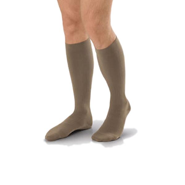 Jobst forMen 30-40 mmHg Med Khaki Knee High