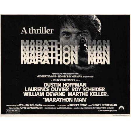 Marathon Man POSTER Movie Half Sheet A (22x28) - Halloween Movie Marathon 2017