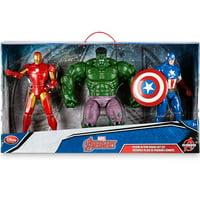 Marvel Avengers  Iron Man, Hulk & Captain America Action Figure 3-Pack