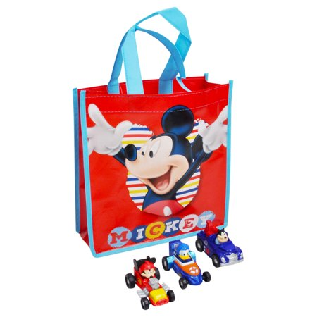 ff2a6633176 Boys Mickey Mouse Roadster Racers Cars Toy Vehicles   Tote Bag (4Pcs) -  image ...