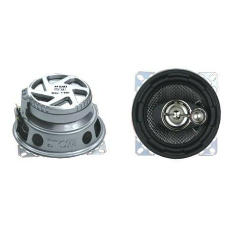 Absolute Speakers (Absolute PRO1493 4-Inch 3-Way 600 Watts Car Speakers)