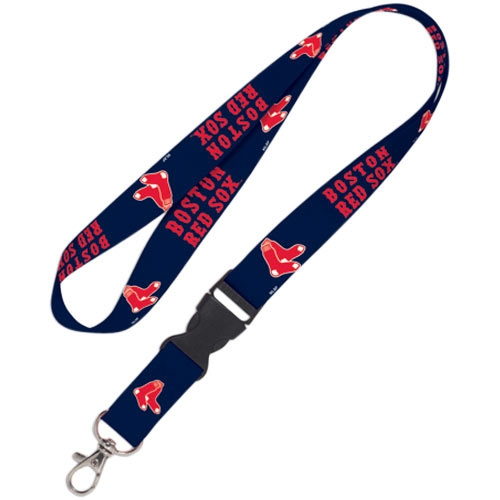 Boston Red Sox WinCraft Lanyard with Detachable Buckle - No Size