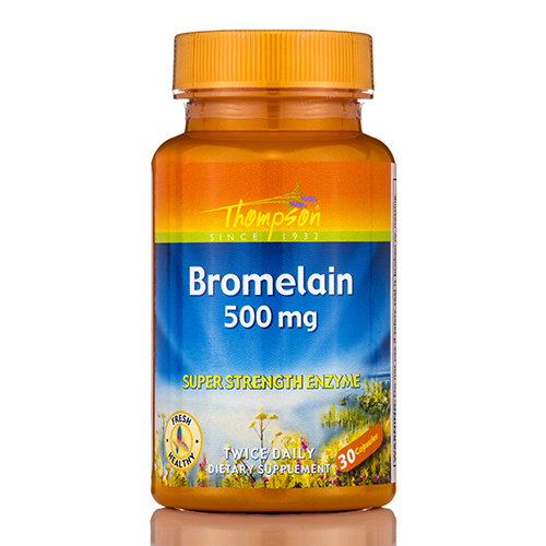 Bromelain 500 mg (Super Strength Enzyme) - 30 Capsules by Thompsons