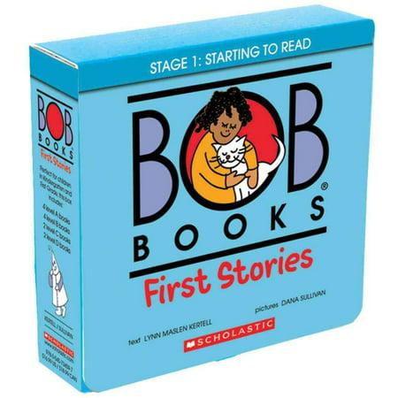 Bob Books: First Stories (Halloween Stories For First Grade)