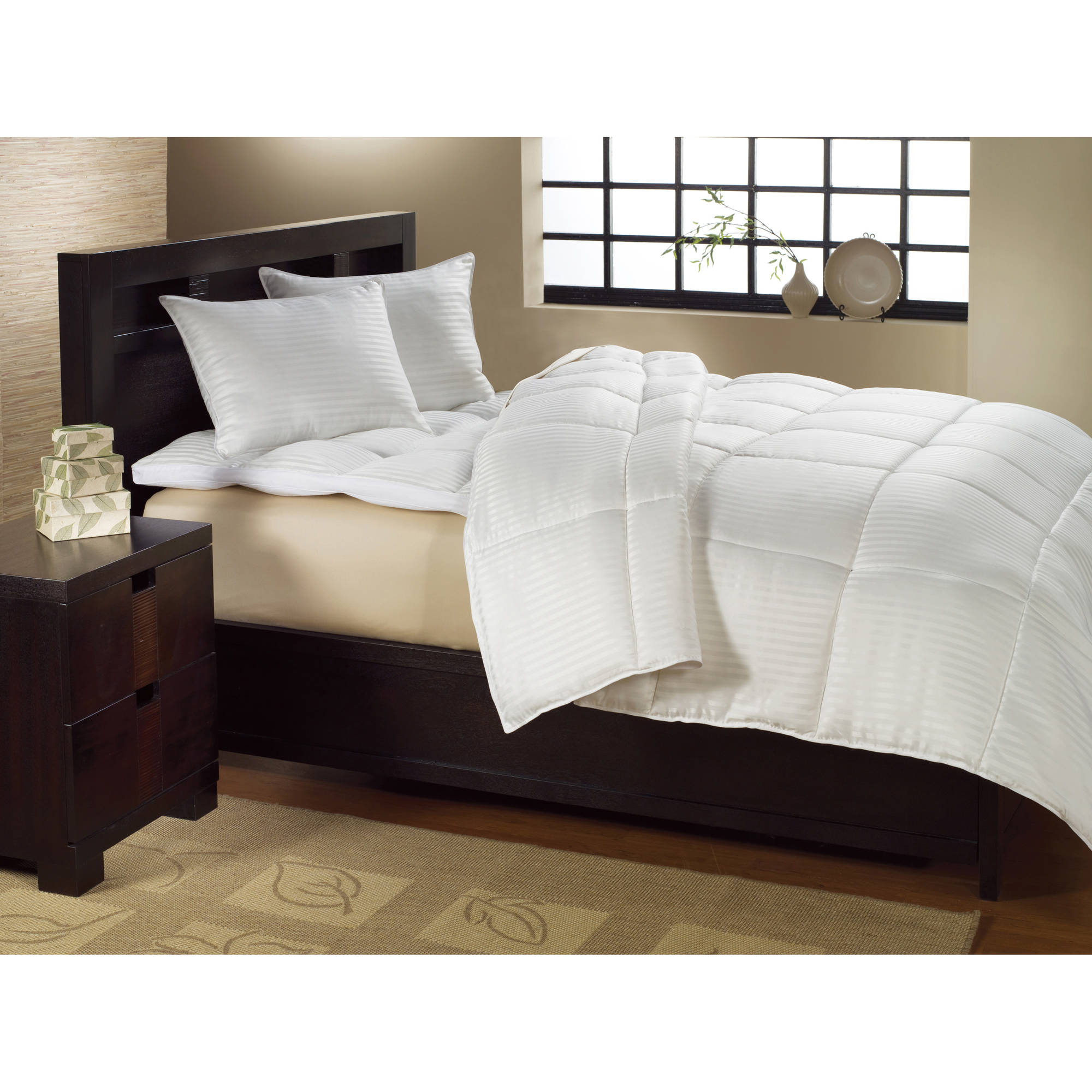 better homes and gardens down fusion year round warmth comforter