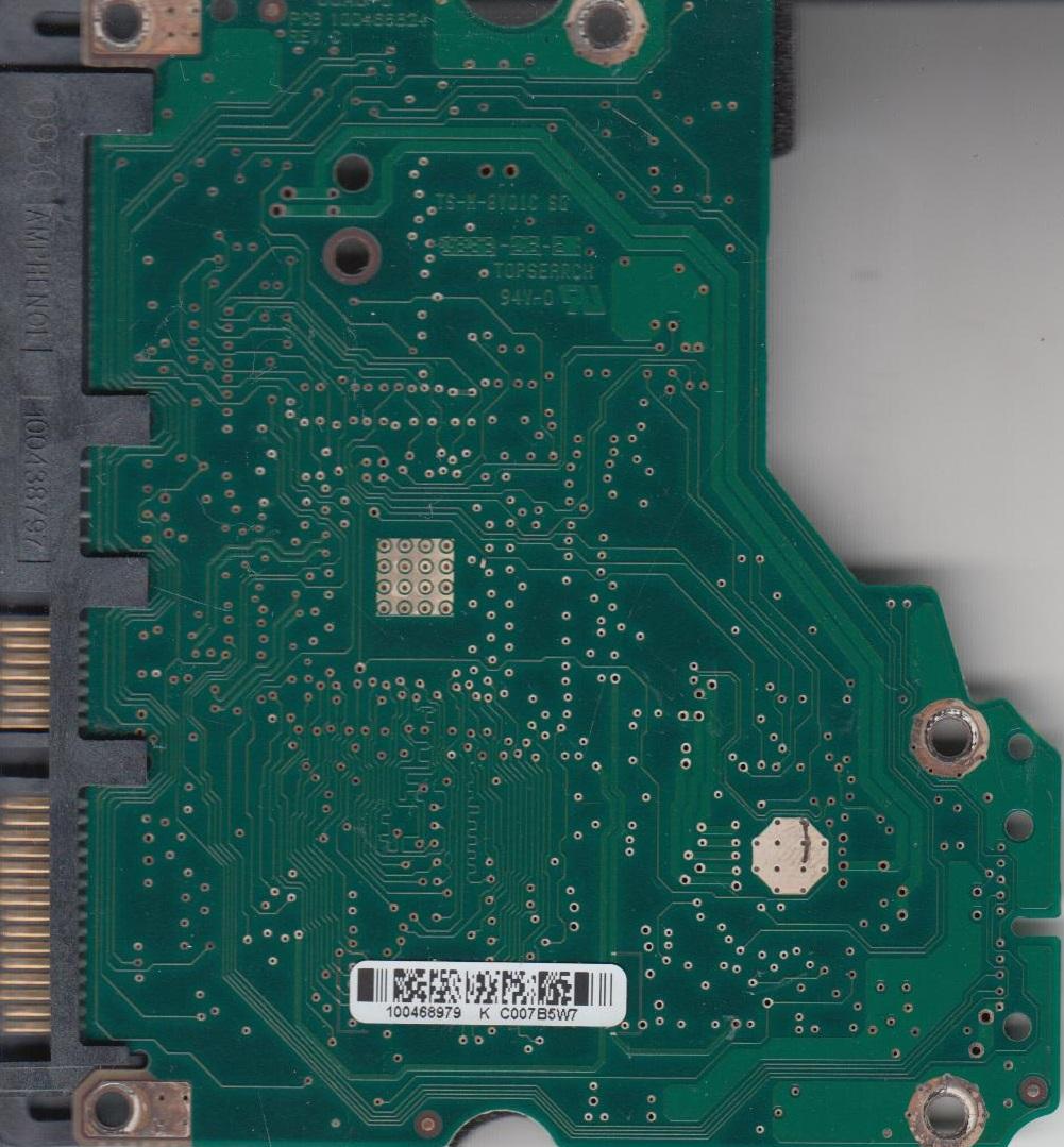 ST31000340NS, 9CA158-504, SN06, 100468979 K, Seagate SATA 3.5 PCB