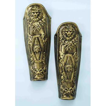 - ROMAN LEG ARMOUR-GOLD