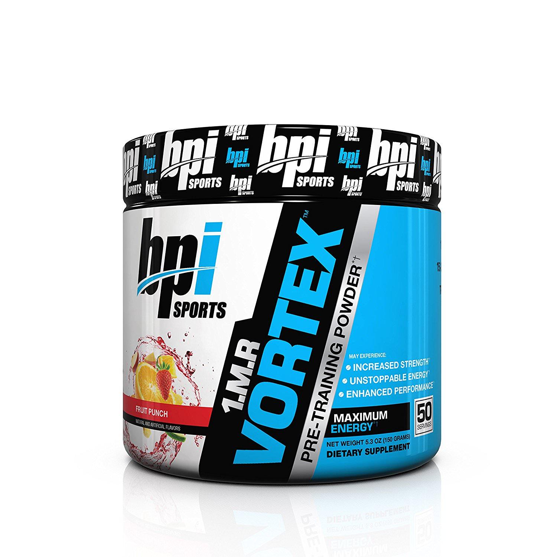 BPI Sports 1.M.R Vortex Pre Workout Powder, Fruit Punch, 40 Servings