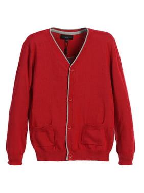 Gioberti Boy's 100% Cotton Knitted Cardigan Sweater