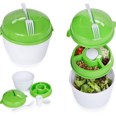 Centerlinkmedia Salad To Go Bowl (Salsa Bowls)