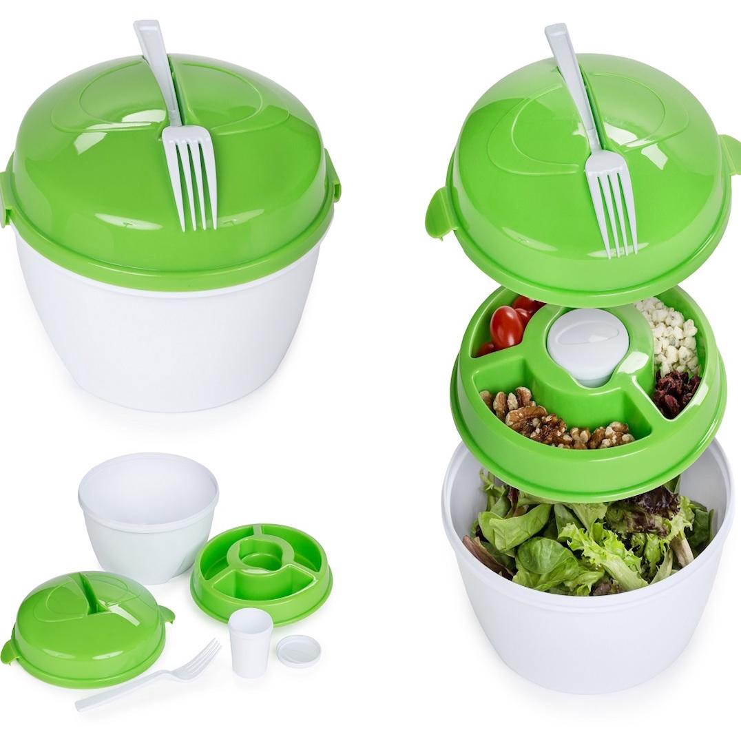 Centerlinkmedia Salad To Go Bowl