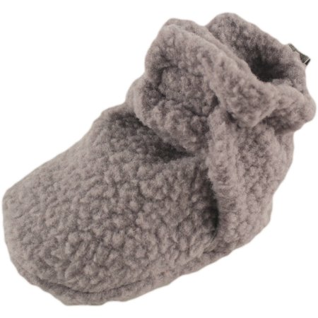 Baby Boy Fleece Booties - Chuck Taylors Baby