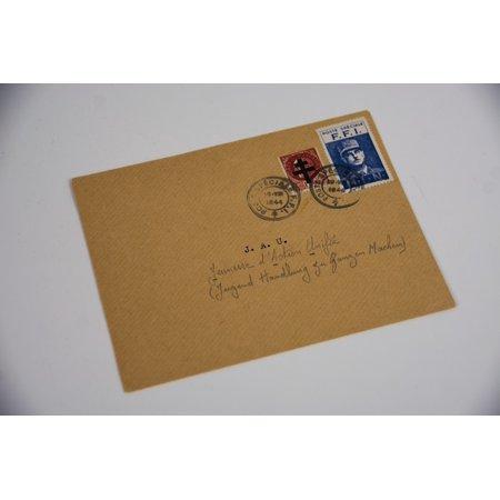 Correspondence Envelopes - LAMINATED POSTER Envelope Factor Mail Post Letter Correspondence Poster 24x16 Adhesive Decal