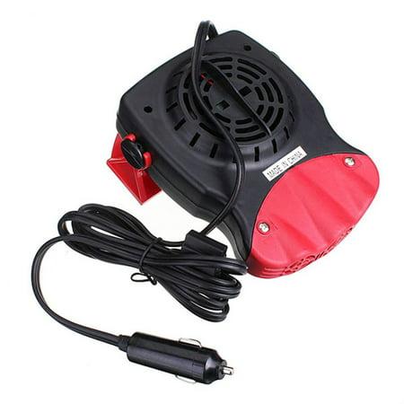 12v 150w Portable Car Heating Cooling Fan Heater Defroster Demister