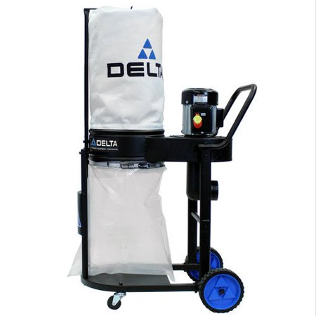 Delta 50-723 1 HP Motor Dust Collector (Garage Electric Motor)