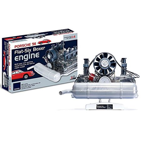 Porsche 911 Flat Six Boxer Engine Model Kit