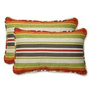 Pillow Perfect Roxen Indoor/Outdoor Lumbar Pillow (Set of 2)
