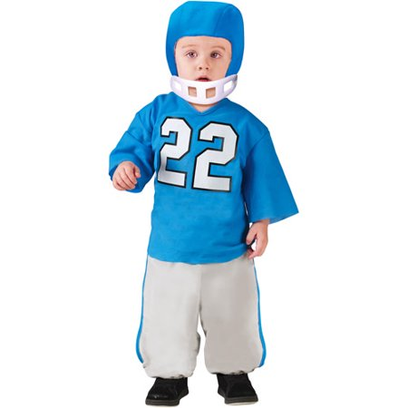 Football Player Toddler Halloween Costume (Halloween Shoes)